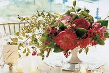 Beautiful Floral Arrangements / A collection of centerpieces to inspire you for your table or buffet / by tabletop trends
