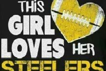 Fanatic! / Fan of Pittsburgh's Professional Sports Teams. Especially Passionate About the Steelers! You Can Take the Girl Out of Pittsburgh, but Never Take Pittsburgh Out of the Girl. / by Alexis Collins