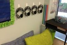 Listening Center Ideas / Ideas and tips to help you set up and organize a successful Listening Center. Supplies, response sheets, reading lists, and decorations for your workstation!