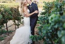 Vineyard Wedding / An inspiration for an elegant and rustic vineyard wedding requested by a reader