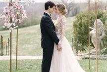 Spring Wedding / Spring Wedding ideas & inspiration