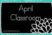 April Classroom
