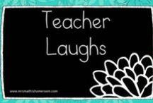Teacher Laughs