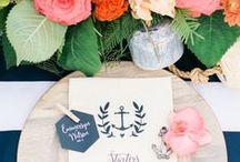Nautical Wedding / Ideas and inspiration for preppy, nautical weddings!