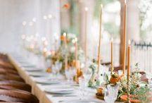 Dreamy Receptions / Beautiful and Inspiring Wedding Receptions
