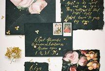 Black Wedding / Chic and stark wedding ideas in black