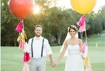 Colorful Wedding! / Chic and colorful wedding ideas!