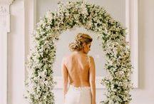 White Wedding / White Wedding Ideas with Plenty of Texture