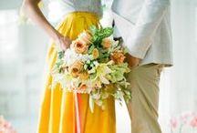 Yellow Wedding / Sunny Yellow Wedding Ideas