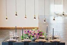 Modern Wedding / Modern and innovative wedding ideas