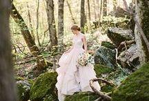 Woodland Wedding / Woodsy and wandering weddings among the trees