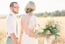 Country Wedding / Elegant Pastoral Wedding Inspiration