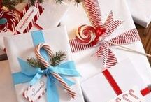 we ♡ Christmas wrapping. / Cute ways to decorate your pressies this Xmas