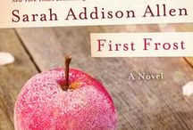 A First Frost Garden Party / Win a copy of First Frost by Sarah Addison Allen with your own First Frost Garden Party Board! Follow @heyweddinglady @magicallydelish and @stmartinspress and fill out this form - http://goo.gl/forms/P2xNZpR958 - to enter!