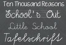 Font Fanatic / Fonts for your classroom! Fun fonts perfect for making your printables and power points exciting.