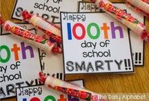 100th Day of School / Celebrate the 100th Day of School with these fun activities, learning ideas, books, and games for your classroom.