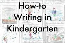 Writer's Workshop / Prompts, topics, and ideas for teaching and practicing writing in your kindergarten classroom.
