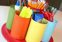 DIY / Doing it yourself ideas for the home and classroom!