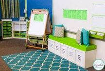 Small Classroom Ideas / Organize your small classroom with DIY materials and a great learning environment for your students.