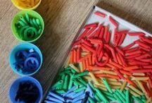 Sorting Activities / Fun fine motor work for students with inviting sorting activities for your classroom.