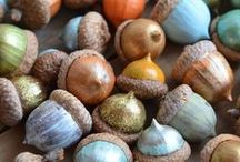 Acorns / Fall themed work with acorns! Fun acorn crafts, acorn games, and autumn play themes for your classroom or home.