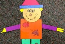 Scarecrow / Super fun scarecrow crafts, games, and activities for kids and classroom.