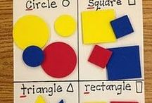 Shapes / Use shapes for learning with shape crafts, shape activities, and fun shape learning ideas for your classroom or home.