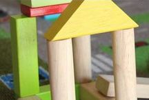 Block Play / Open ended play with block! Setup block learning centers and blog learning ideas in your classroom today.