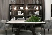 Catálogo Mesas MODO   CASA / Mesas de comedor, mesas bajas, mesas de centro, mesas de arrime, mesas auxiliares. Diversos materiales: madera, cuero, cuero con pelo, corocco, mármol, hierro.