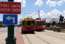 Fort Smith Sites & Sights / Fort Smith, Arkansas--the old, the new, and the always awesome.
