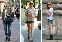 celeb☆style / no doubt celebs styles have an influence on me...oh to have that closet of theirs!! / by Diana Menchaca