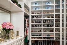 Cool Closets / A closet should be like a showroom, comfortable, and sexy.  We can help you create a fabulous showcase for your wardrobe! Let us help you design a fantastic one. Call us 703-629-0605 or email today style@KaraAllan.com or www.KaraAllan.com