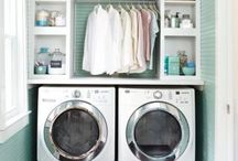 Laundry Rooms to Love / Your laundry room should be neat and clean and cute!