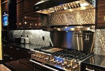 Kitchens You'll Love to Cook In / Kitchens are the heart of a home.  Kitchens, Decor, Interiors, Interior Decorating.