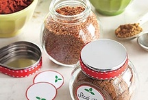 sauces/spice rubs/seasonings / by Annette Engel