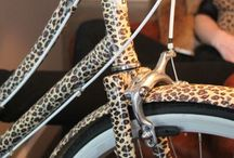 Birdie (Safari) - A Bike by Bobbin / Bobbin Bicycle Leopard Print