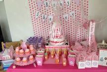 Baby Shower Event Styling / Photos from our themed #babyshowers. Each baby shower is created after close consultation with the Mummy-To-Be from a Pretty in Pink baby shower to French #lebebe  www.nappytastic.com