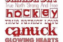 Canuck Fever / by Alison Solven, Stamp Crazy!