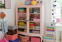 Decorate and Organize / Getting organized and decorating around the house.