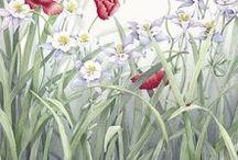 Mickey Baxter-Spade Art / #Fine art, #prints, framed art, #flower art, #landscape art, #geclees