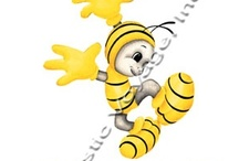 All about Bees / #paintings of #bees, #Photos of #bees, #fun bees, #food with bees