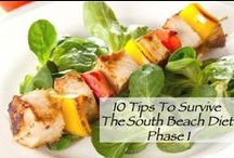 Low Carb & South Beach Diet Phase 1,2,3