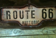 [ Signs, Neons & Co ☛ Route 66 / ☛ Signs, Neons & Co ☛ Route 66 / by Alex A.D. @AlexAlDel @Laciterneshop