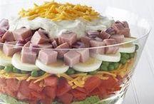 Salad / Salad, dressing, yum!