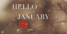 Hello January / Brrrrrrr, January is cold but the snow can be so beautiful.