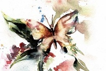 Butterflies & Dragonflies / by Christy Obalek, Visual Artist