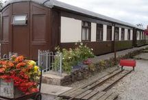 Self Catering Pullman Coaches  / Self catering holidays in our exclusive Pullman Coaches at Ravenglass Station - sleep up to 6