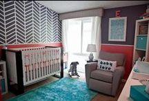 Nursery & Kid Rooms / Ideas for nurseries and big kid rooms. / by Paige Andre
