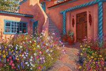 Garden Inspiration... / Chill ax area...