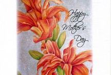 Mother's Day Cards / Consider #boxed cards as a #Mother's Day gift. Who doesn't need $thank you notes or cards designed with her name on them.